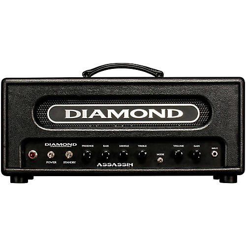 Diamond Amplification Assassin Vanguard Series 22W Tube Guitar Amp Head Black