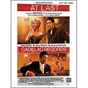 Alfred At Last from Cadillac Records Piano/Vocal/Chords by Alfred