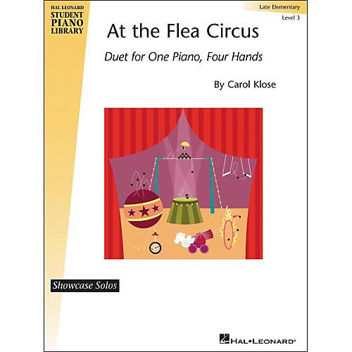Hal Leonard At The Flea Circus - Piano Duet Showcase Solos Level 3 Hal Leonard Student Piano Library by Carol Klose-thumbnail