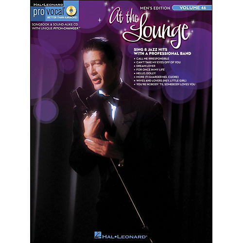 Hal Leonard At The Lounge - Pro Vocal Songbook & CD for Male Singers Volume 46-thumbnail