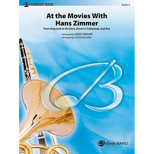 Alfred At the Movies with Hans Zimmer Concert Band Level 3 Set-thumbnail