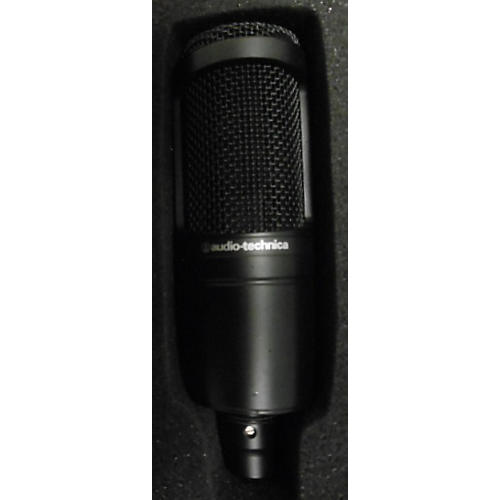 Audio-Technica At2020 Black Condenser Microphone-thumbnail