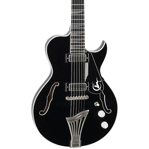 Luna Guitars Athena Sun Semi-Hollowbody Electric Guitar
