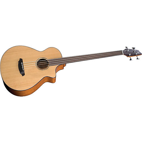 Breedlove Atlas Series Solo BJ350/CM4 Fretless Acoustic-Electric Bass Guitar