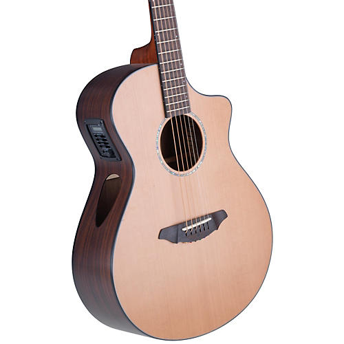 Breedlove Atlas Series Solo C350/CRe Concert Acoustic-Electric Guitar Natural