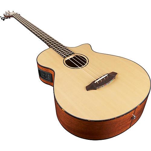 Breedlove Atlas Series Studio BJ350/SMe-4 Acoustic-Electric Bass Guitar Natural-thumbnail