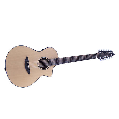 Breedlove Atlas Solo C350/SRe 12-String Acoustic-Electric Guitar Natural
