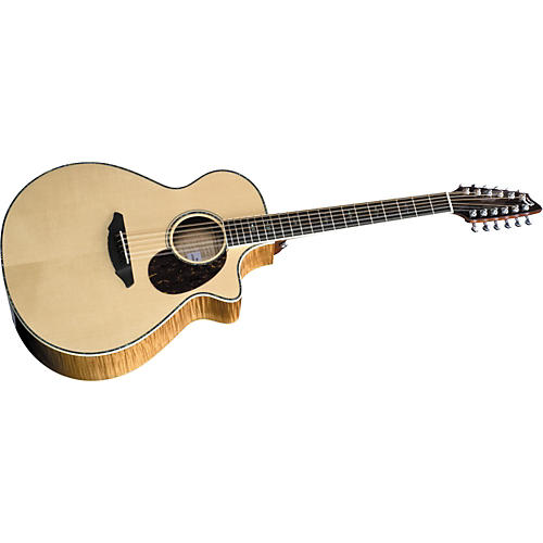 Breedlove Atlas Stage Series J350/EFe-12 12-String Jumbo Acoustic-Electric Guitar Natural