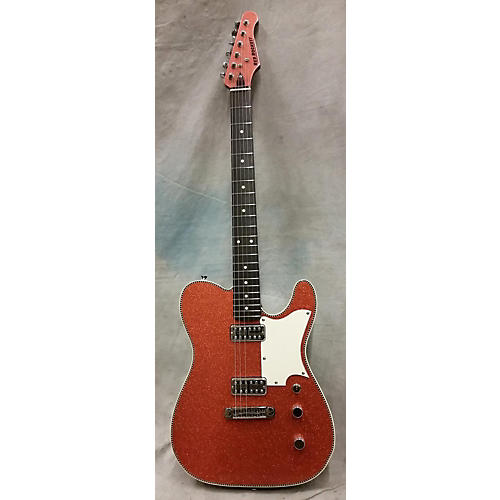 In Store Used Atomic 6 W/case Sparkle Copper Solid Body Electric Guitar