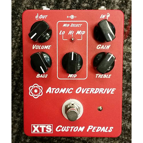In Store Used Atomic Overdrive Effect Pedal