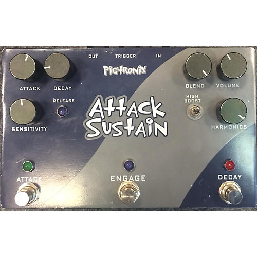 Pigtronix Attack Sustain Effect Pedal
