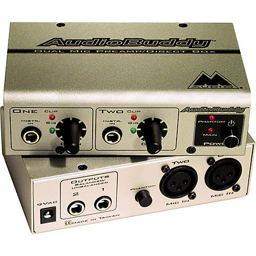 M-Audio Audio Buddy 2-Channel Preamp-thumbnail