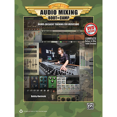 Alfred Audio Mixing Boot Camp Book & DVD-thumbnail