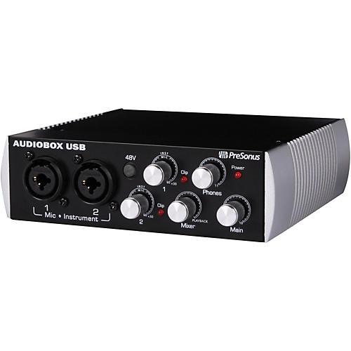 Presonus AudioBox 2x2 Black Edition USB Recording System-thumbnail