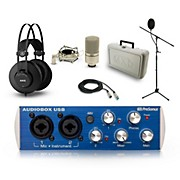 PreSonus AudioBox, AKG K52 and MXL 990 Package