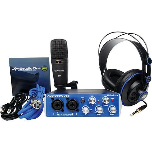 PreSonus AudioBox Studio Recording Bundle-thumbnail