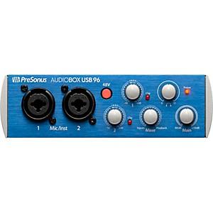 Presonus AudioBox USB 96 2x2 USB Recording System