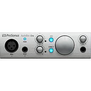 PreSonus AudioBox iOne 2x2 USB and iPad Recording System