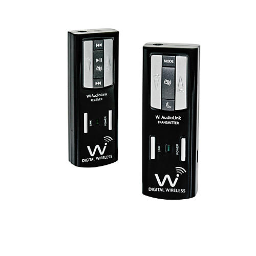 Wi Digital AudioLink Pocket Portable Stereo Digital Wireless Music Instruments & Audio Monitoring System