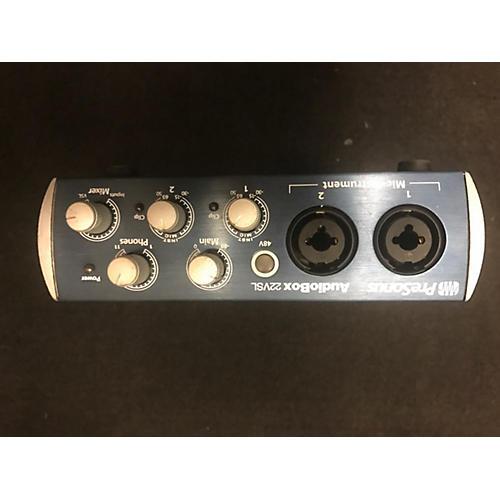 used presonus audiobox 22vsl audio interface guitar center. Black Bedroom Furniture Sets. Home Design Ideas