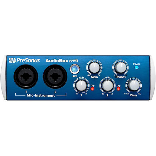 Presonus Audiobox 22VSL USB 2.0 Recording System-thumbnail