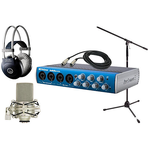 PreSonus Audiobox 44VSL MXL AKG Package