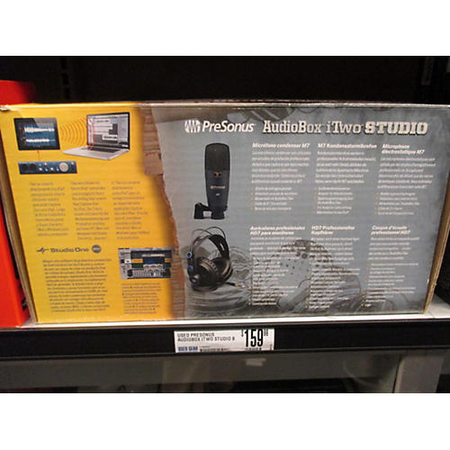 Presonus Audiobox Itwo Studio Bundle Audio Interface