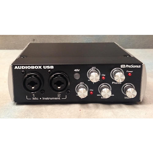 Presonus Audiobox Usb Black Audio Interface