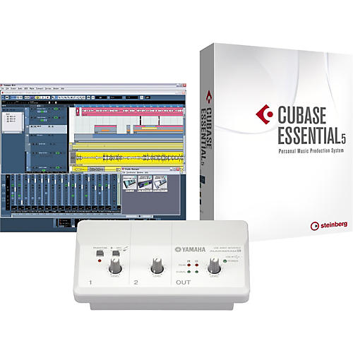 Yamaha Audiogram 3 & Cubase Essential 5 Recording Package