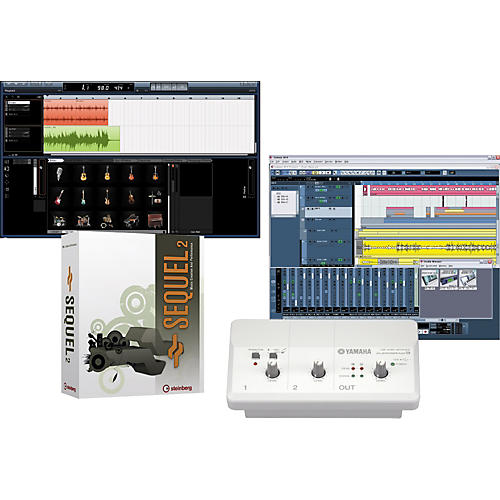 Yamaha Audiogram 3 & Steinberg Sequel 2 Recording Package-thumbnail