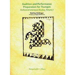 Carl Fischer Audition and Performance Preparation for Trumpet Volume 1 Book by Carl Fischer