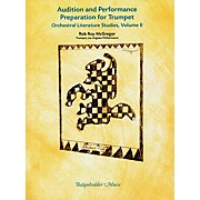 Carl Fischer Audition & Performance Preparation for Trumpet Volume 2 Book