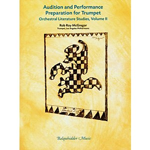Carl Fischer Audition and Performance Preparation for Trumpet Volume 2 Book by Carl Fischer