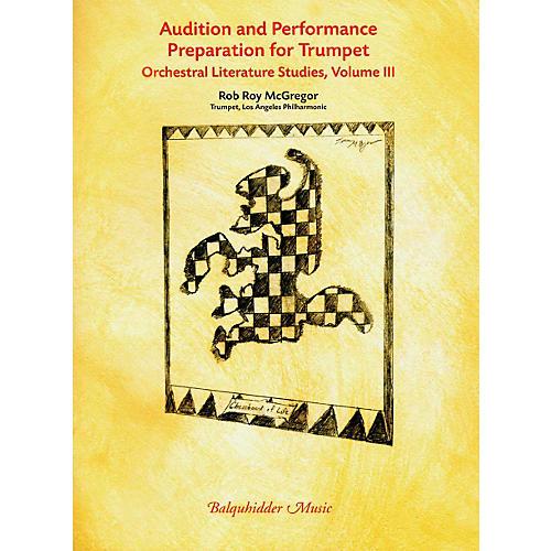 Carl Fischer Audition & Performance Preparation for Trumpet Volume 3 Book