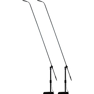 Audix Audix MB5050 MicroBoom 50 inch Carbon Fiber Boom System with M1250B Microphone ... by Audix