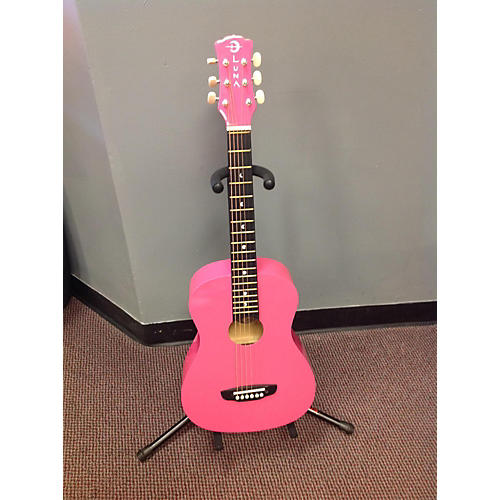 Luna Guitars Aur Day Pink Pink Acoustic Guitar-thumbnail