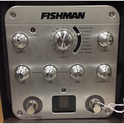 Fishman Aura Spectrum DI Imaging Guitar Preamp-thumbnail
