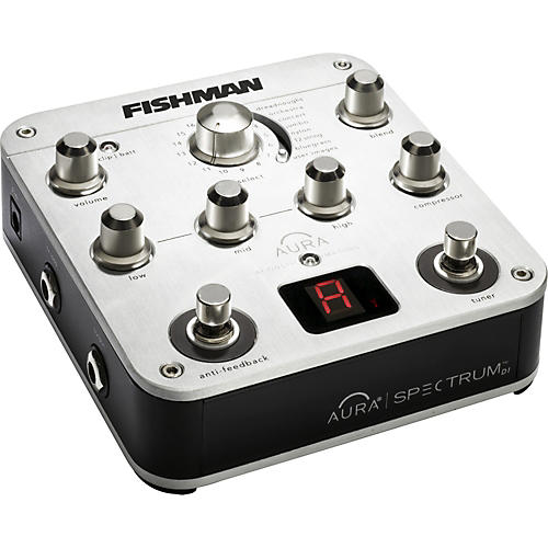 Fishman Aura Spectrum DI and Acoustic Guitar Preamp-thumbnail