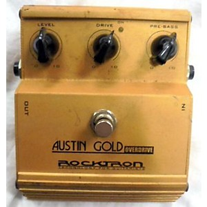 Pre-owned Rocktron Austin Gold Effect Pedal by Rocktron