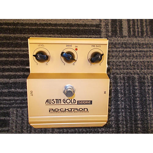 Rocktron Austin Gold Overdrive Effect Pedal