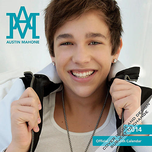 Browntrout Publishing Austin Mahone 2014 Calendar Square 12x12-thumbnail