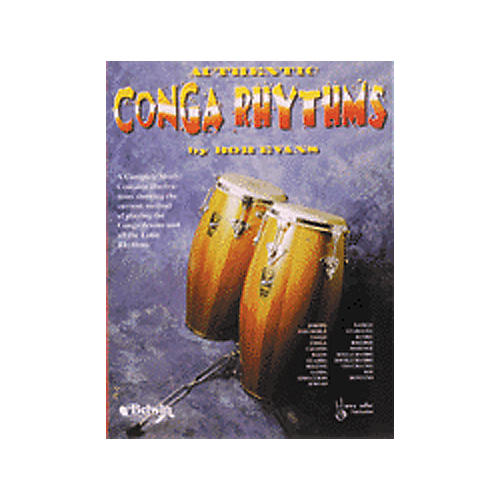 Alfred Authentic Conga Rhythms Book-thumbnail