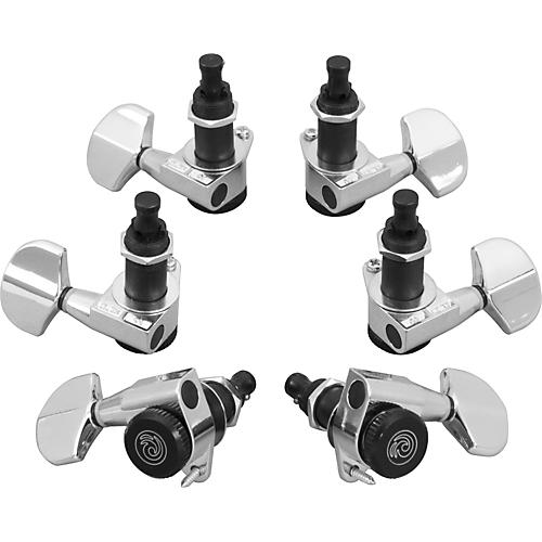 D'Addario Planet Waves Auto-Trim Tuning Machines/3 Per Side-thumbnail