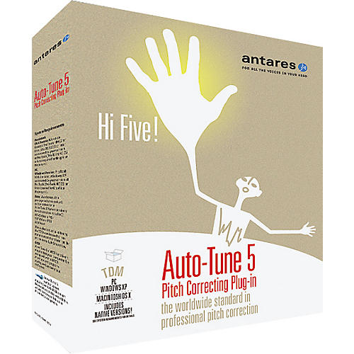 Antares Auto Tune 5 TDM Pitch Correcting Plug-In-thumbnail