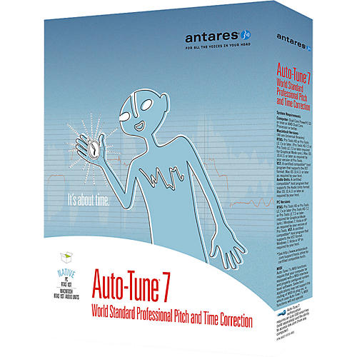 Antares Auto-Tune 7 Native Software Plug-In