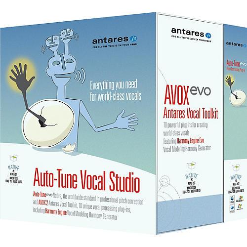 Antares Auto-Tune 7 Vocal Studio TDM Software Plug-Ins Native