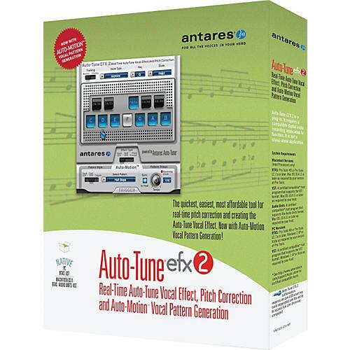 Antares Auto Tune EFX2 Promotional Bundle-thumbnail