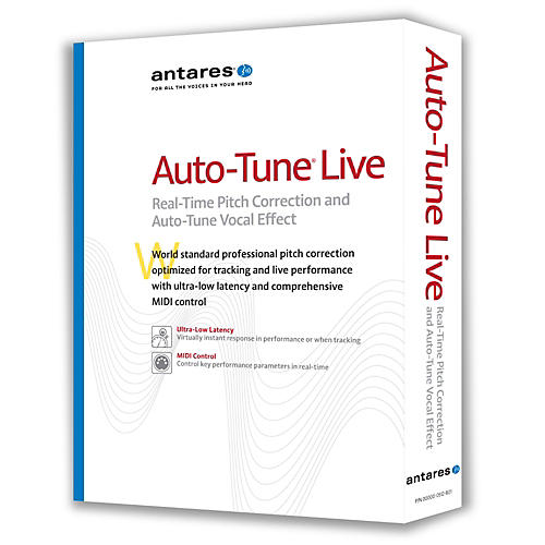 Antares Auto-Tune Live Vocal Processing Software