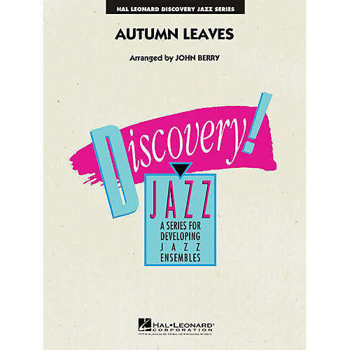 Hal Leonard Autumn Leaves Jazz Band Level 1.5 Arranged by John Berry
