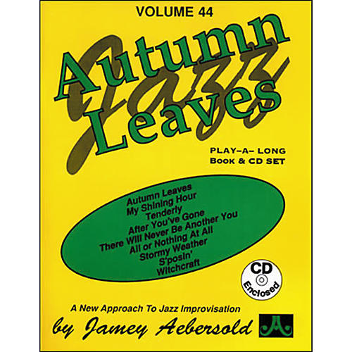 Jamey Aebersold Autumn Leaves Play-Along Book and CD